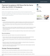 Gartner - Payment Acceptance Post-Covid-19 - thumbnail