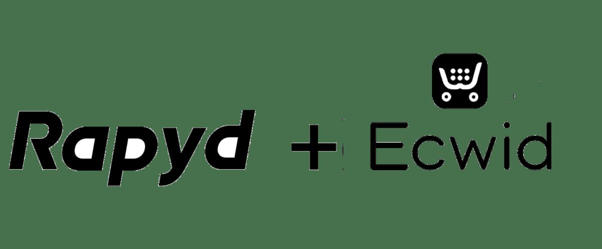 Rapyd + Ecwid landing page graphic